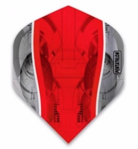 Pentathlon Silver Edge red - Standard