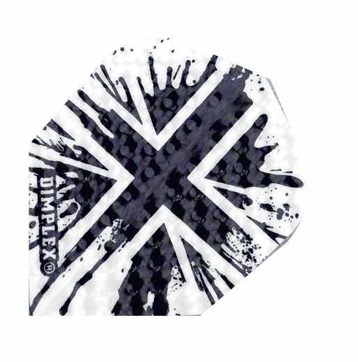 Harrows Dimplex Union jack black - Standard