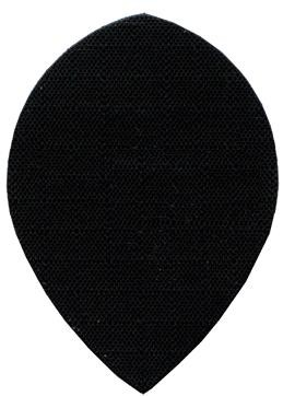 "Fabric ""black"" - Pear"