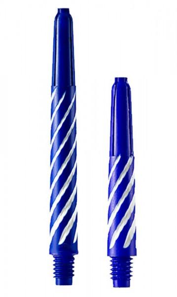 Spiroline blau-weiß