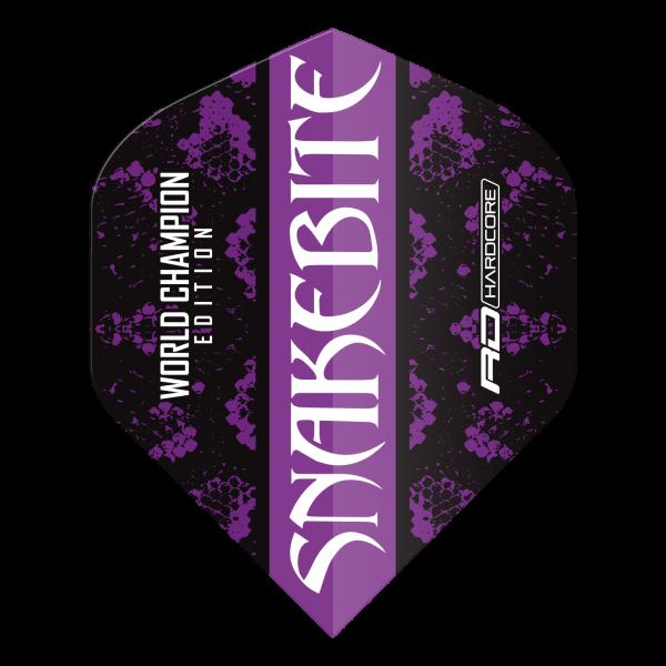 Peter Wright Snakebite World Champion black/purple - Standard