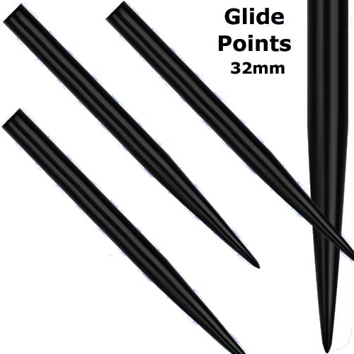 Stahlspitze schwarz 32mm