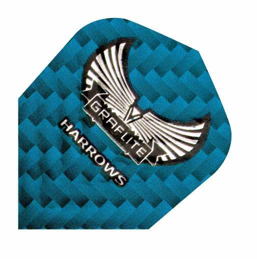 Harrows Graflite blau - Standard