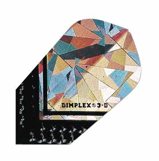 Dimplex 3D silber schwarz - slim