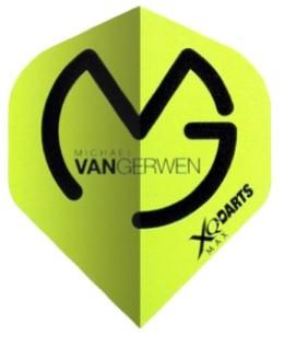 XQmax Michael van Gerwen MVG Logo green-black - Standard