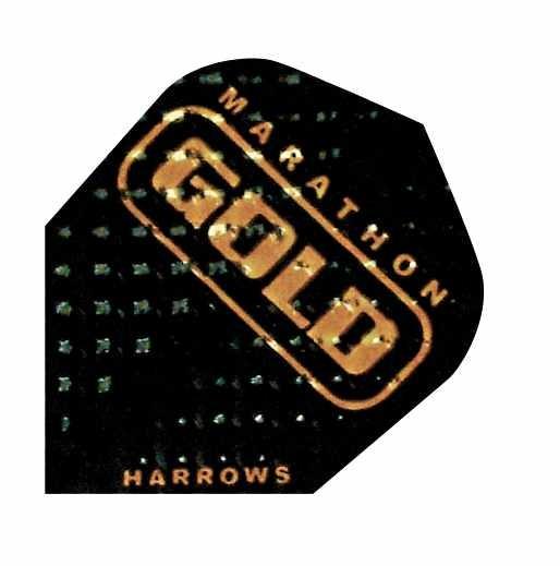 Harrows Dimplex Marathon GOLD schwarz - Standard