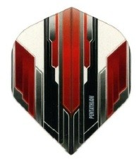 Pentathlon Black and Red Crystal - Standard
