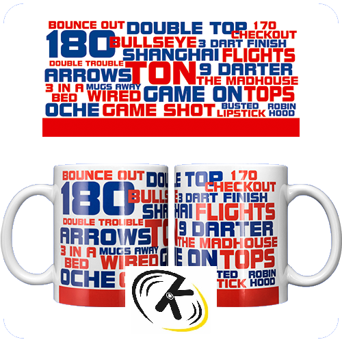 Coffee Mug World of Darts