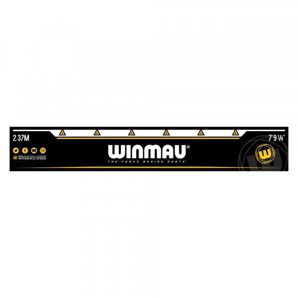 Winmau Abwurflinie / Oche selbstklebend schwarz-gelb