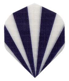 "Nylon Stoff ""Black-White Stripes"" - Standard"
