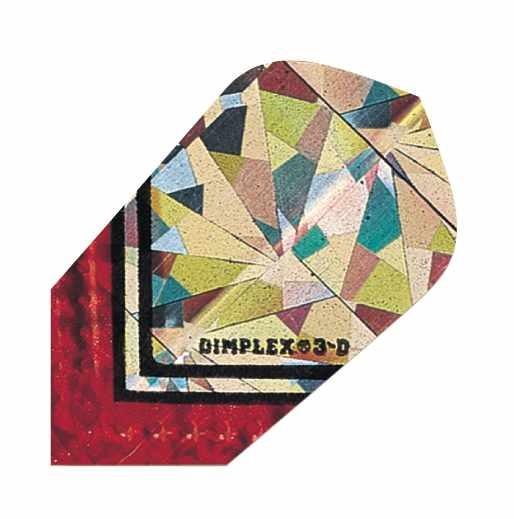 Dimplex 3D silber rot - Slim