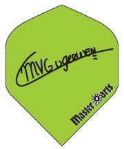 Michael van Gerwen MVG Signature green - Standard