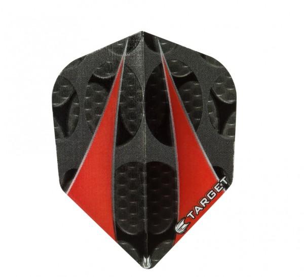 Target Vision Twin Sail schwarz-rot - Standard