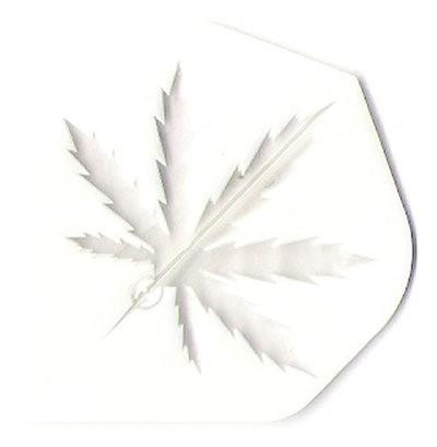 ''Cannabis Leaf white'' - Standard