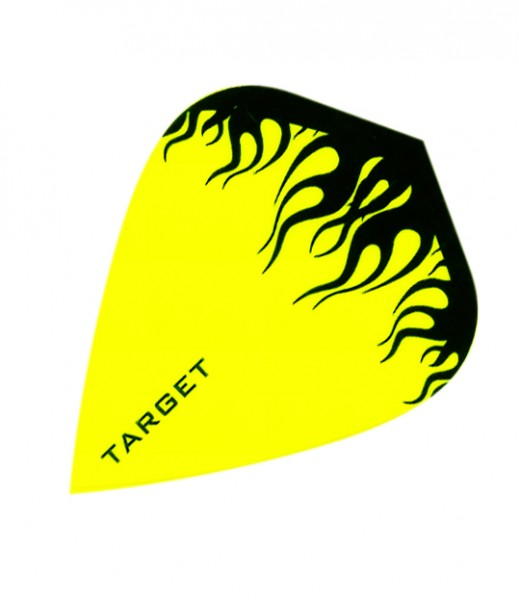 Target Pro 100 Flame gelb - Kite