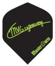 Michael van Gerwen MVG Signature schwarz - Standard