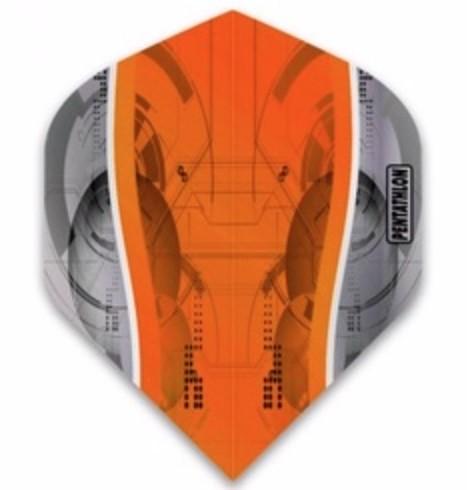 Pentathlon Silver Edge orange - Standard
