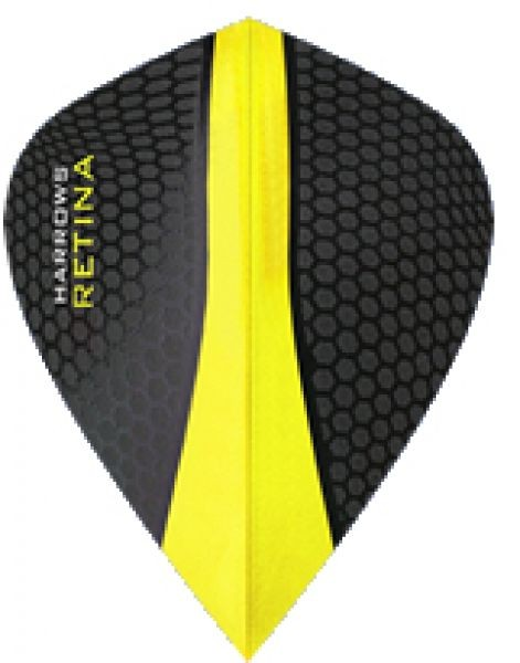 Harrows Retina Flights gelb - Kite