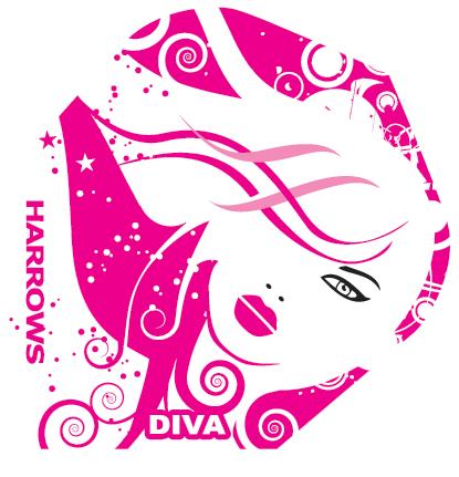 Harrows Diva 6003 - Standard