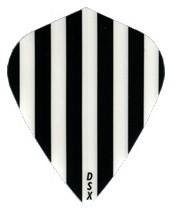 Stripes ''black white Stripes'' - Kite