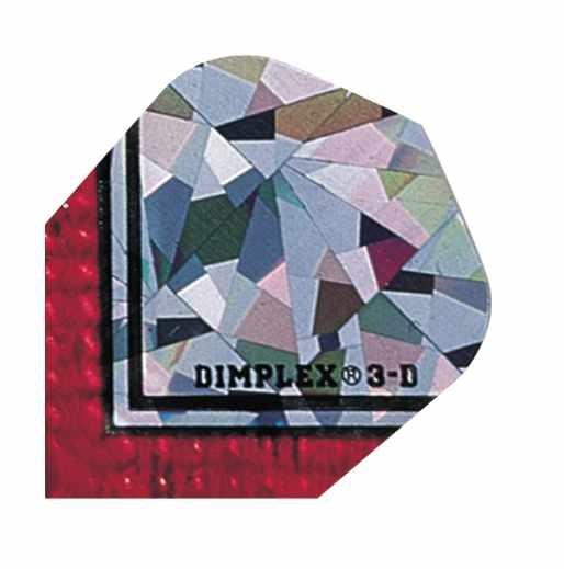 Dimplex 3D silber rot - Standard